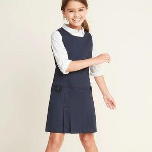 Old Navy Uniform Dress for Girls Navy Color New